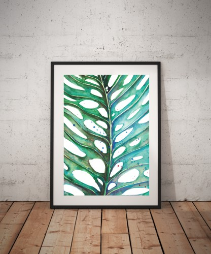 Plakatas MONSTERA
