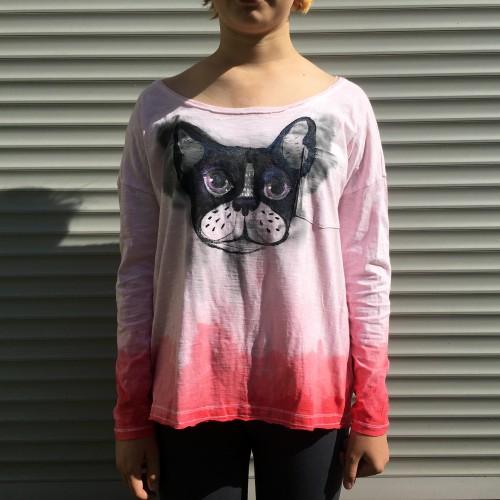 Ilgarankoviai marškinėliai PRANCŪZAS. (S dydis)